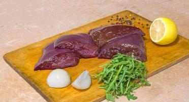 Les Délices de Vermorel - Foie de veau Rouge des Prés - 2 tranches
