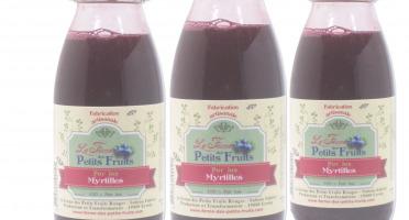 La Ferme des petits fruits - Offre De 3 Jus De Myrtilles