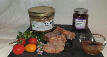 La Ferme du Montet - Pâté de campagne de Porc Noir Gascon BIO - 380 g