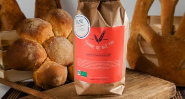 Du bio dans l'assiette - Farine Blé T80 5kg