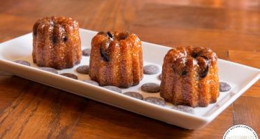 Les Cannelés d'Audrey - Cannelés Pépites De Chocolat - 4 Pièces  - Sans gluten
