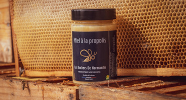 Les Ruchers de Normandie - Miel de fleurs à la Propolis 250g