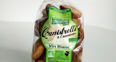 Jean-Paul Vincensini et Fils - Canistrelli au Vin Blanc Bio