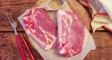 Ferme de Pleinefage - Côte de Porc- 500 gr