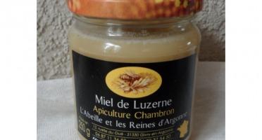 Apiculture Chambron L'Abeille et les reines d'Argonne - Miel De Luzerne 250g