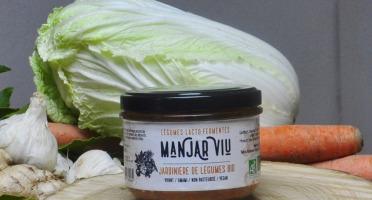 Manjar Viu : Légumes lacto fermentés - Jardinière de Légumes Lacto-fermentés Bio - 220g