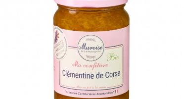 Muroise et Compagnie - Confiture de Clémentine Corse Bio - 350 gr