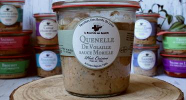 La Bourriche aux Appétits - Quenelles de Volaille aux Morilles