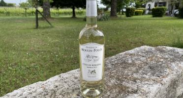 Vignobles Fabien Castaing - AOC Côtes de Bergerac Blanc Moelleux Domaine de Moulin-Pouzy Tradition 2020 - 75cl