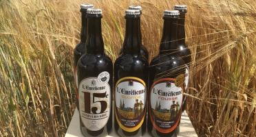 """L'Eurélienne - Brasserie de Chandres - Assortiment """"Découverte"""" - 6 Bières L'Eurélienne 75cl"""