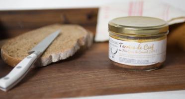 La Ferme de l'Etang - Terrine De Cerf Au Foie Gras De Canard, 200g