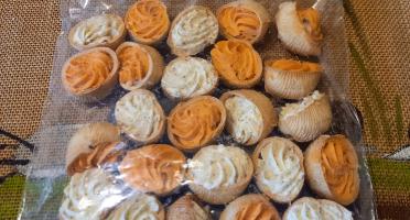 L'escargotière BONVALOT - 2 Douzaines D'escargots Surgelés En Croquille  Assortiment Comté/tomate
