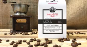 Cafés Factorerie - Café Malabar des Indes MOULU - 250g