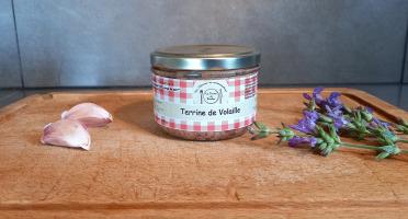 La ferme de Rustan - Terrine de Volaille Label Rouge 180g