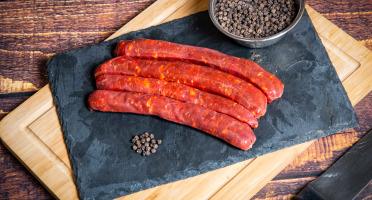 La Ferme du Mas Laborie - Saucisses piquantes - 1 kg