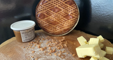 Le Fournil de Saint-Congard - Gâteau Breton Caramel au Beurre Salé - 500 g