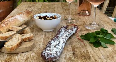 Ferme Les Barres & Monsieur Fermier - Saucisse Sèche Nature