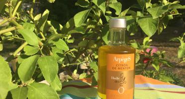 Huile des Orgues - Huile d'Olive Parfumée au Citron de Menton - 100 ml