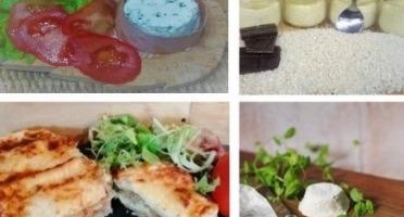 """Ferme du caroire - Repas Complet """"les Pieds Sous La Table"""" : Entrée, Plat, Fromage Et Dessert(2 Personnes)"""