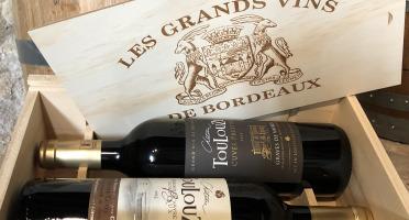 Château des Plassons - Coffret Bois: Château Toulouze Cuvée Prestige 2016 Et Château Toulouze Grande Cuvée 2018