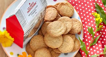La Tarte Tropézienne - Biscuits à la fleur d'oranger