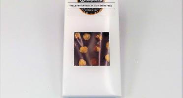Maison Jonquier - Chocolat au Lait et Noisettes – 38% de Cacao – 100g