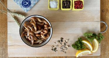 La Criée d'à Côté - Crevettes Grises Cuites - 1 kg