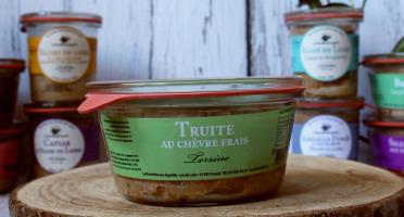 La Bourriche aux Appétits - Terrine de Truite au Chèvre Frais