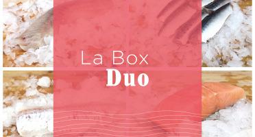 Qwehli - Box Duo - Lieu Noir - Eglefin - Sardine - Cabillaud - Saumon