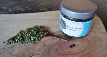 LA FERME DES BALEINES - Laitue De Mer Bio En Paillettes - 30 G - Terre Saline