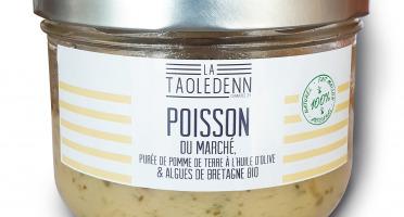 La Chikolodenn - Poisson Du Marché, Purée De Pommes De Terre Bio Aux Algues Bio, 280g