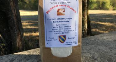 Moulin de Mirebeau - Farine D'epeautre Moulue À La Meule De Pierre 500g
