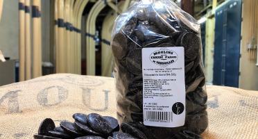 Moulins de Versailles - Chocopastilles Chocolat Noir Ébène 72%  - 500g