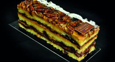 Philippe Segond MOF Pâtissier-Confiseur - Gâteau Chocolat-caramel-pécan Sans Gluten