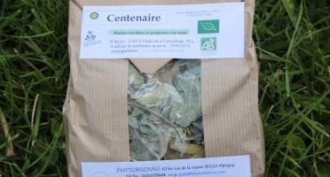 """PhytoBrenne Le Jardin des Magies - Tisane Composée """"Centenaire"""""""