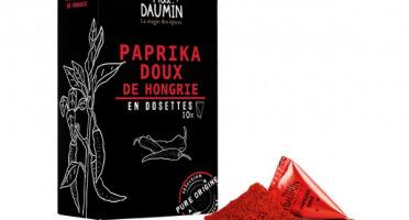 Epices Max Daumin - Paprika de Hongrie - Boite de dix dosettes