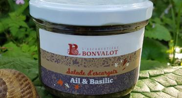 L'escargotière BONVALOT - Salade d'Escargot Ail et Basilic 90g