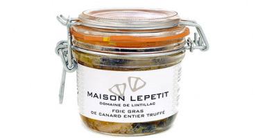 Maison Lepetit - Foie Gras De Canard Entier Truffé 5%