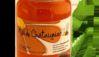 Miel et Pollen - Miel De Chataignier 500g