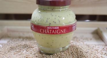 Domaine des Terres Rouges - Moutarde aux Châtaignes 200 g