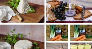 Ferme du caroire - Panier Repas Pour 4 Personnes