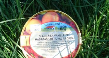 Les Glaces de la Promesse - Glace À La Vanille De Madagascar Et Réunion