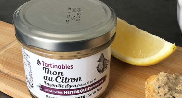 Ô'Poisson - Tartinables Thon Blanc Au Citron