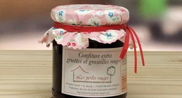 Les Perles Rouges - Confiture Extra De Griotte Et Groseille Rouge