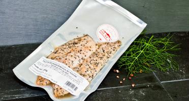 Olsen - Maquereaux fumés au poivre 200g 2 filets