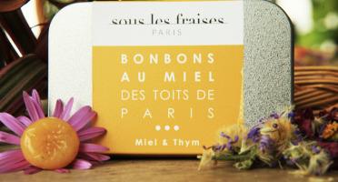 Sous les fraises - Epicerie des Toits de Paris - Bonbons Miels & Thym