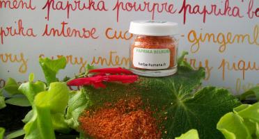 HERBA HUMANA - Paprika Belrubi Bio Cultivé en France 5 g