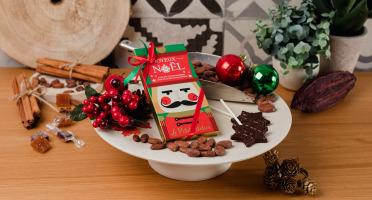 Le Petit Atelier - Étui De 2 Sucettes Flocon Au Chocolat Au Lait Bio