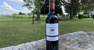 Vignobles Fabien Castaing - AOC Bergerac Rouge Domaine de Moulin-Pouzy Prestige 2015 - 75 cl