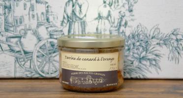 Ferme des Hautes Granges - Terrine de Canard à l'orange - 190 g